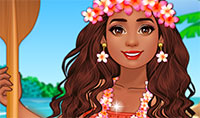 Habillage Princesse Vaiana