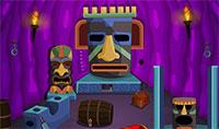 Trouver le trésor caché dans le temple Aztèque