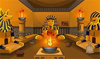 Trouver le trésor caché dans le temple égyptien