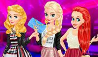 Relooking 2017 de Aurore, Elsa et Ariel