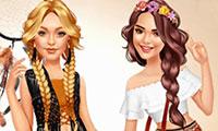 Habiller et maquiller Kendall et Gigi
