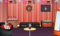 Evasion maison style pirate