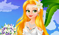 Mariage de Princesse Raiponce à Hawaï
