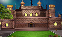Evasion du palais piégé par une bombe