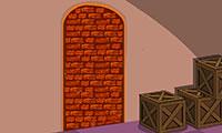 Défoncer la porte condamnée pour sortir