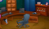 Escape dans des bureaux avec une bombe