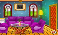 Sortir de la maison colorée