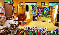 S'échapper de l'atelier de l'artiste