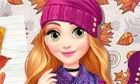 Habiller princesse Raiponce pour l'automne