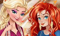 Relooking d'automne des princesses Disney