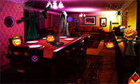 Sortir de la maison Halloween