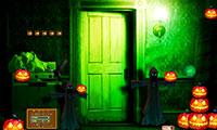 S'échapper d'une maison glauque pour Halloween