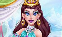 Maquiller la princesse des glaces