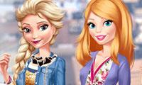 Relooker Barbie et Elsa pour un rendez-vous