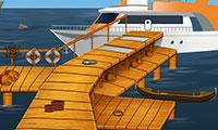 Trouver la longue-vue cachée dans le bateau