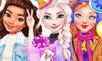 Habiller les princesses Disney pour du patinage