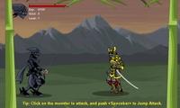 Ninja qui attaque