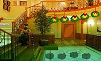 S'échapper de la maison de Noël