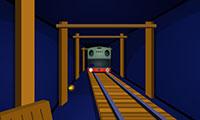 S'échapper de la voie du métro