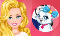 Habiller Barbie et son chat