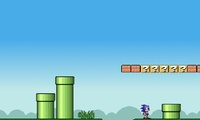 Sonic dans le monde de Mario