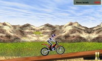 Cascade moto cross