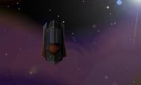 Vaisseau dans l'espace