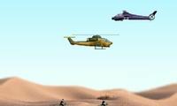 Hélicoptère de l'armée