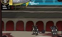 Gladiateur dans une arène