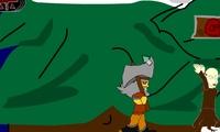 Viking contre des moines