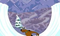 Jeu de Snowboard avec scooby doo