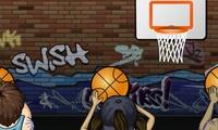 Jeu de tir au panier de basket