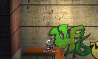 Cascade en vélo