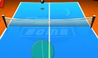 Tennis de table avec une bombe