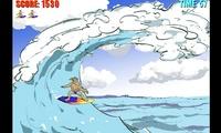 Jeu de surf