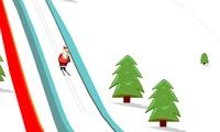 Ski père noël