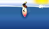 Surfer sur des vagues