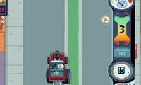Course entre voitures