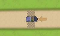 Conduire une voiture sur un circuit