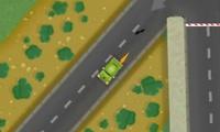 Conduire une voiture en ville