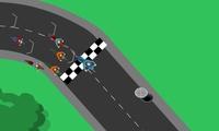 Course de moto sur circuit