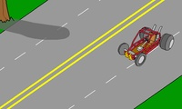 Course de voiture en solo