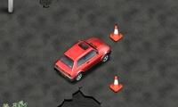 Ecraser tous les cônes en voiture