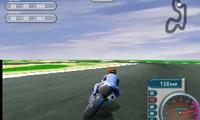 Rouler sur un circuit en moto