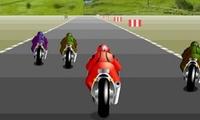 Jeu de course de moto