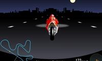 Conduire une moto dans la nuit