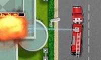 Conduire un camion de pompiers