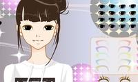 jeu de maquillage avec des filles