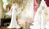 Habiller une jeune mariée
