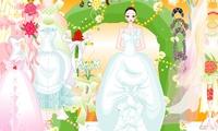 Habiller une nouvelle mariée